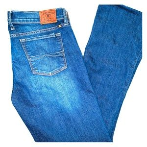🍀 Lucky Brand Jeans Dark Denim Size 10/30 R